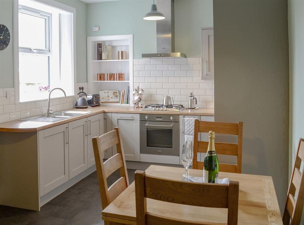 Well equipped kitchen/ dining room at Rockhill in Inverness, Highlands, Inverness-Shire