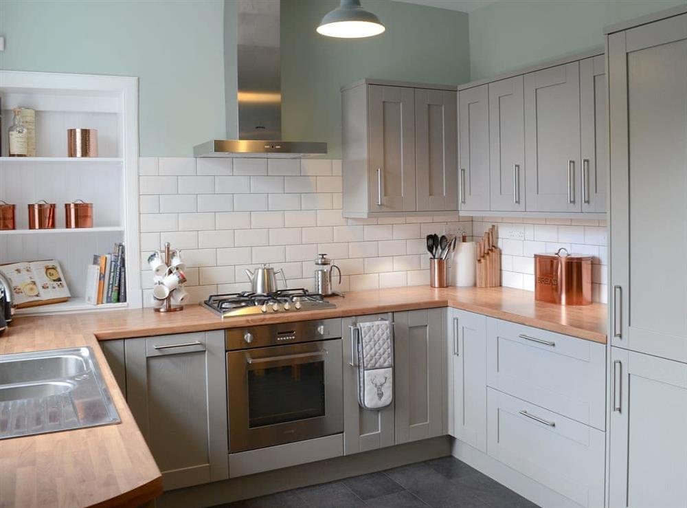 Well presented kitchen at Rockhill in Inverness, Highlands, Inverness-Shire