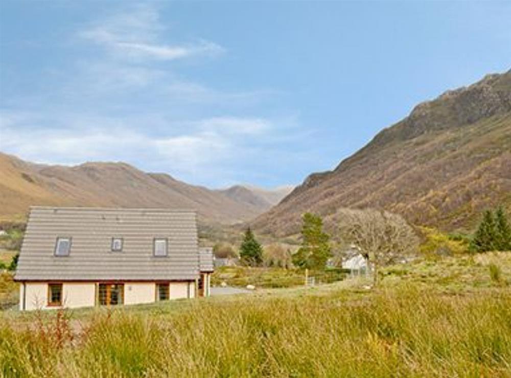 Exterior at Rocky Mountain View in Camusluinie, near Dornie, Argyll