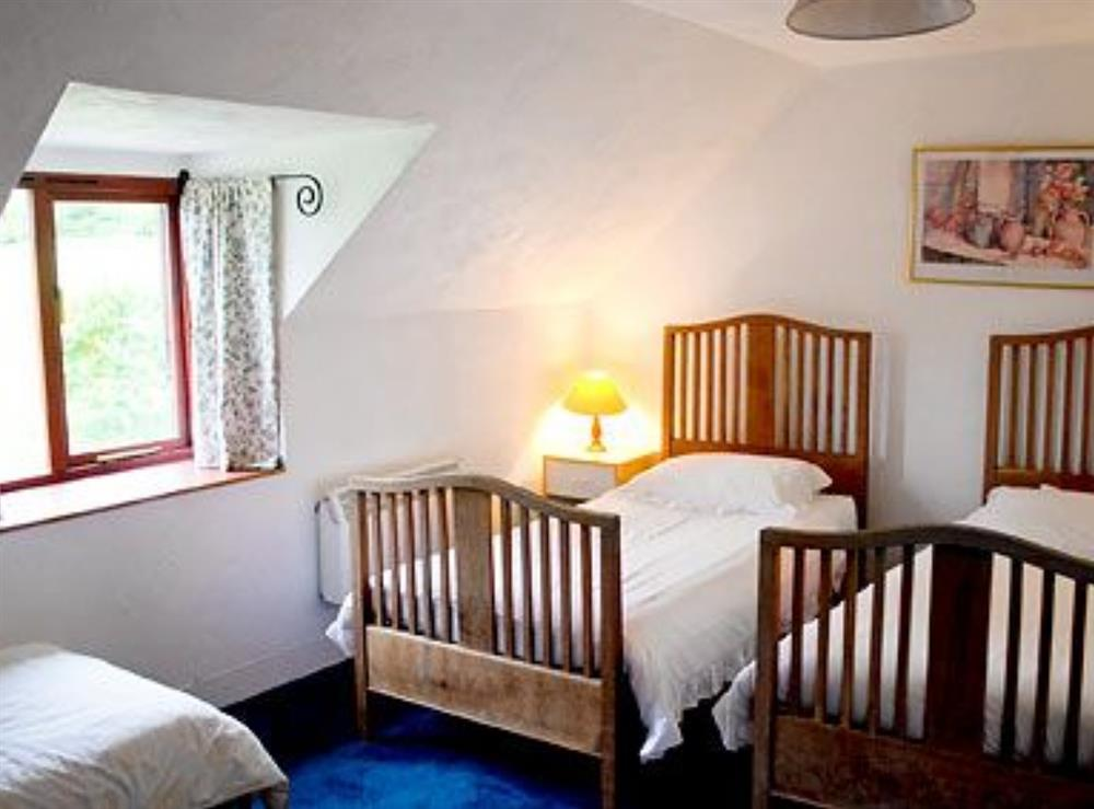 Bedroom at Rose Barn in Llangoedmor, Nr Cardigan, Dyfed., Great Britain