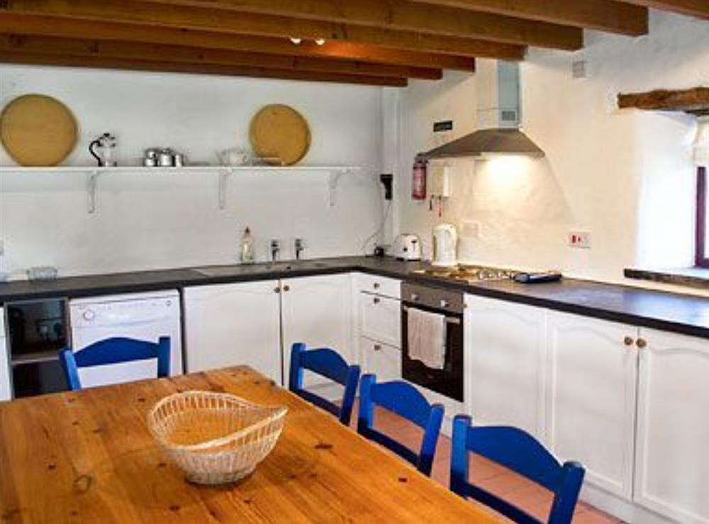 Kitchen/diner at Rose Barn in Llangoedmor, Nr Cardigan, Dyfed., Great Britain