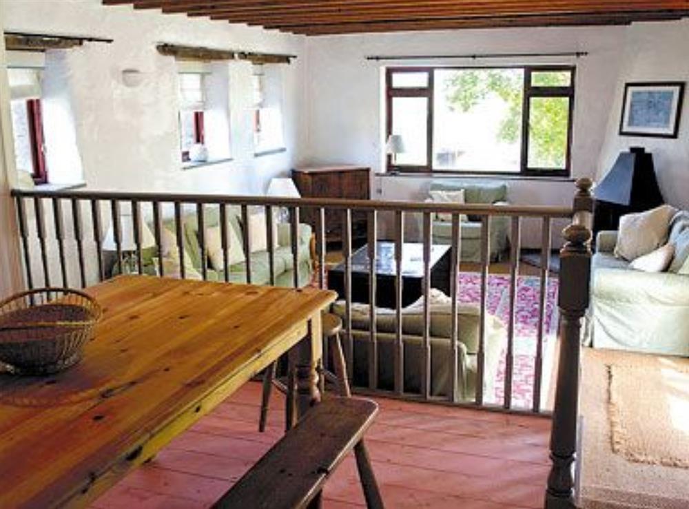 Open plan living/dining room/kitchen at Rose Barn in Llangoedmor, Nr Cardigan, Dyfed., Great Britain