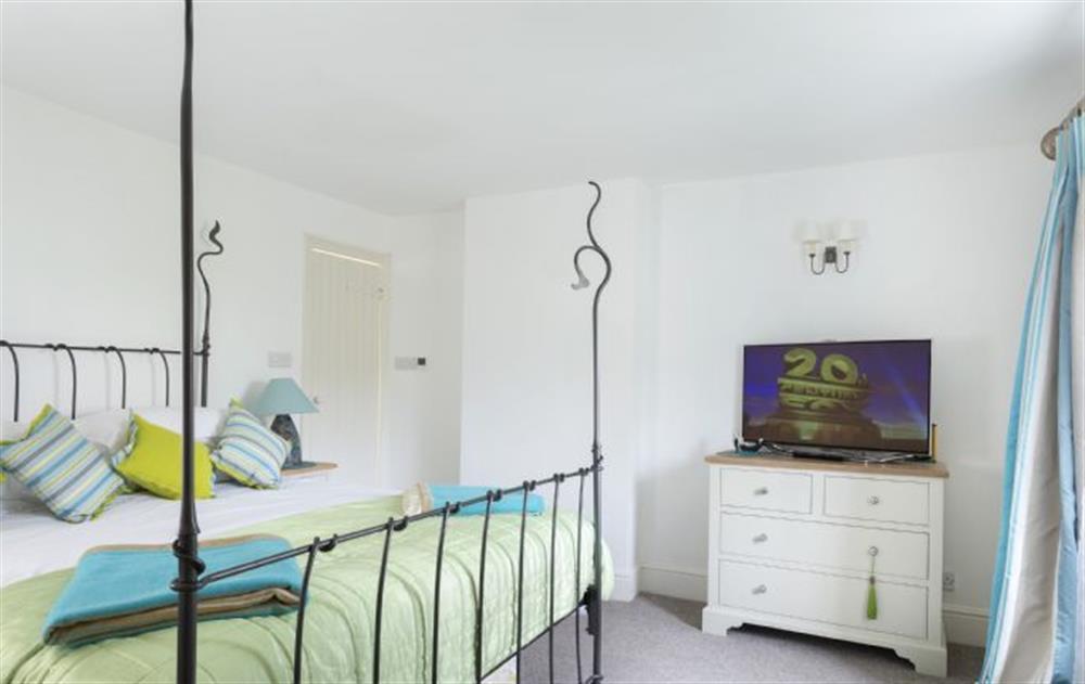 First Floor: Master Bedroom at Rose Cottage, Ashprington
