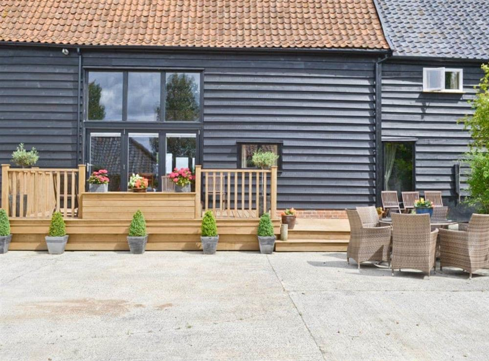 Exterior at Rose Farm Barn in Cratfield, near Laxfield, Suffolk