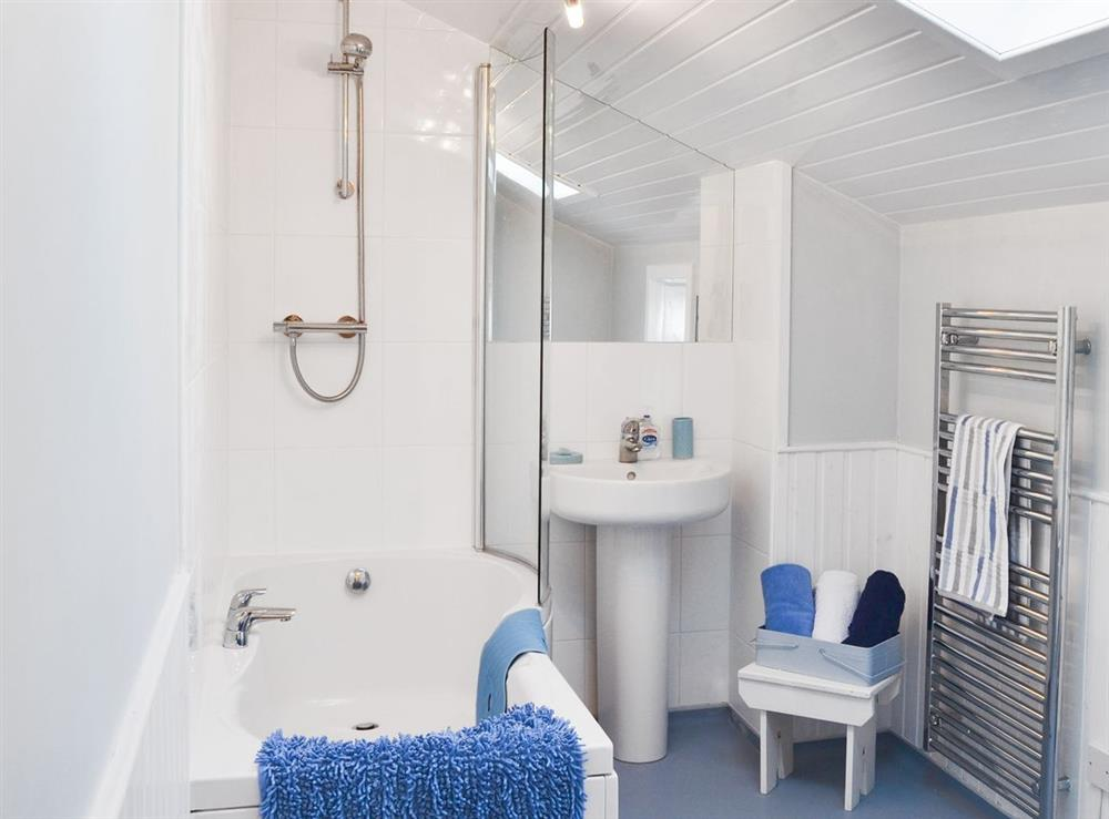 Bathroom at Rosebud in Straiton, near Maybole, Ayrshire