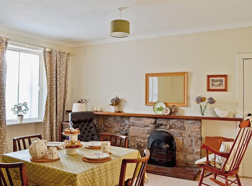 Dining room at Rosebud in Straiton, near Maybole, Ayrshire
