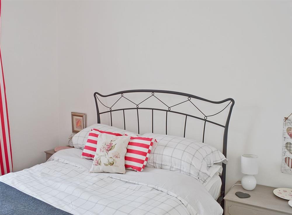 Double bedroom at Rosebud in Straiton, near Maybole, Ayrshire