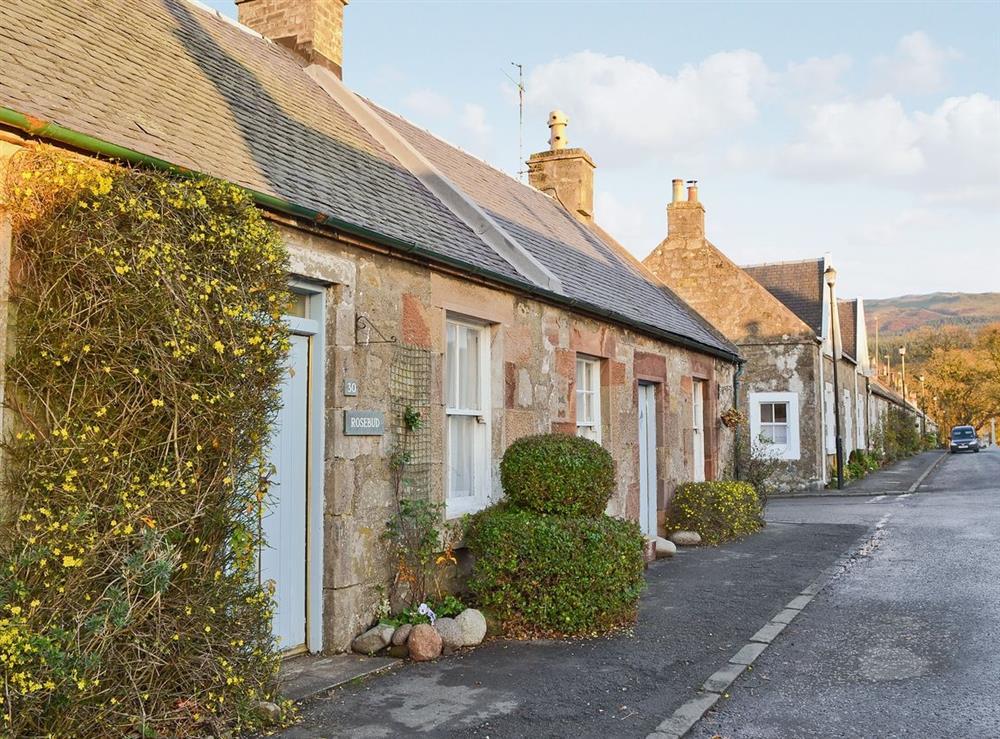 Exterior at Rosebud in Straiton, near Maybole, Ayrshire