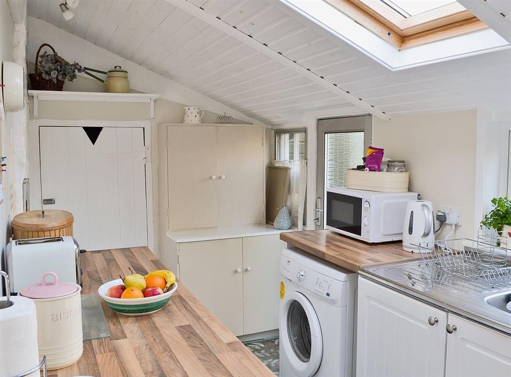 Kitchen at Rosebud in Straiton, near Maybole, Ayrshire