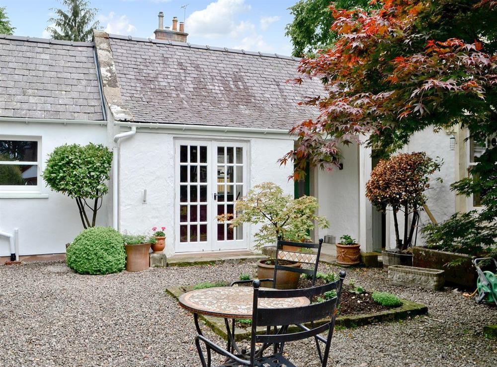 Exterior at Roseburn Cottage in Moffat, Dumfriesshire