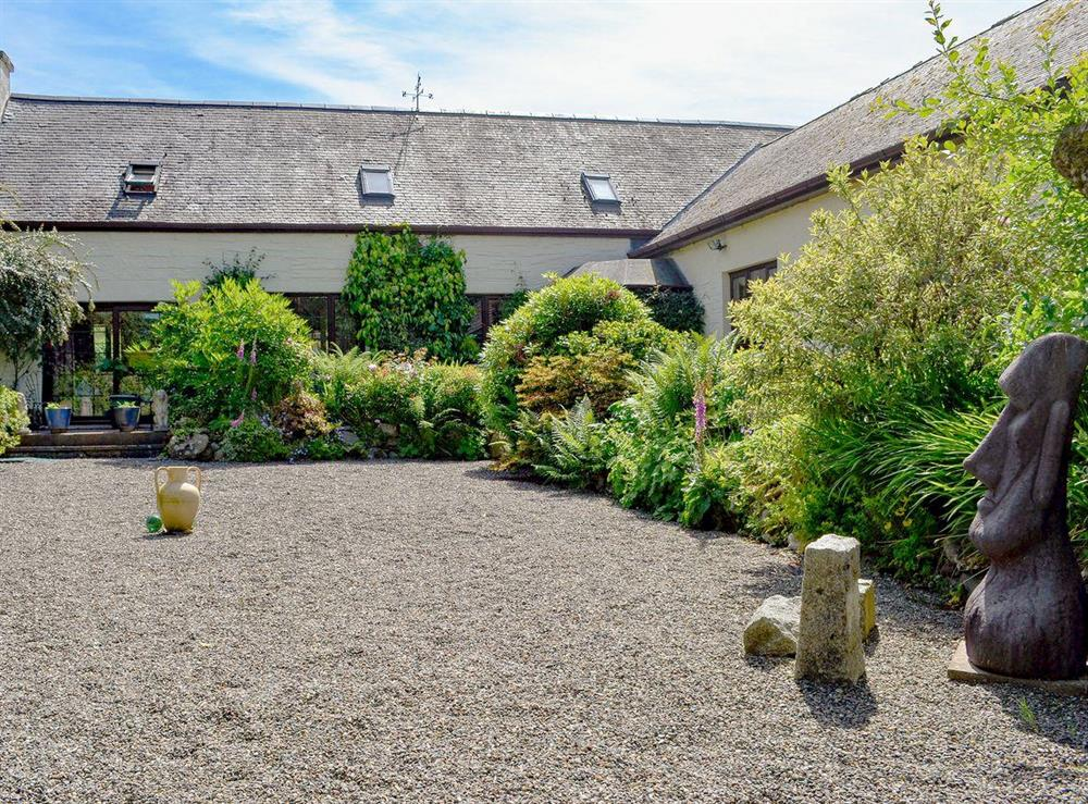 Comfortable first floor apartment attached at Rosehearty in New Luce, near Stranraer, Dumfries and Galloway, Wigtownshire