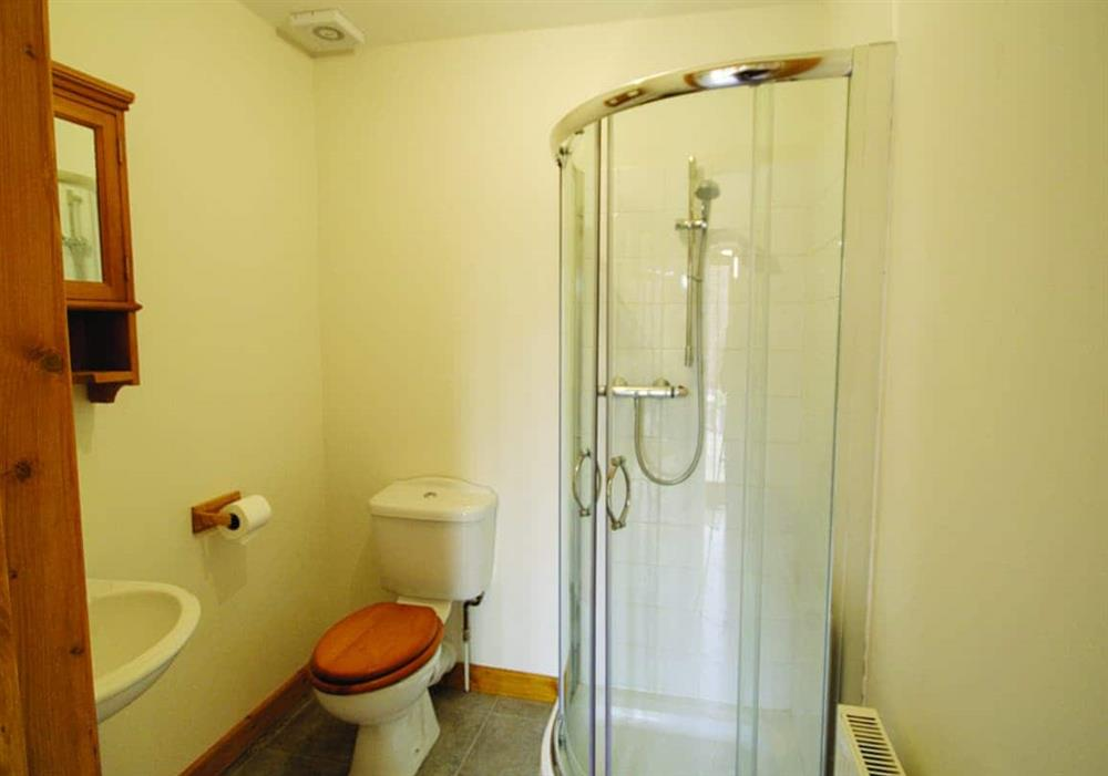 Rosemary shower room at Rosemary in Great Yarmouth, Norfolk