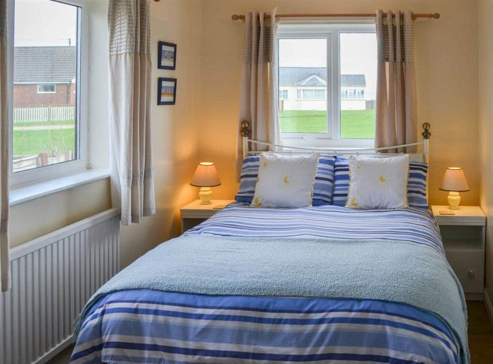 Double bedroom at Rosemary's Sea View in Bacton, Norfolk