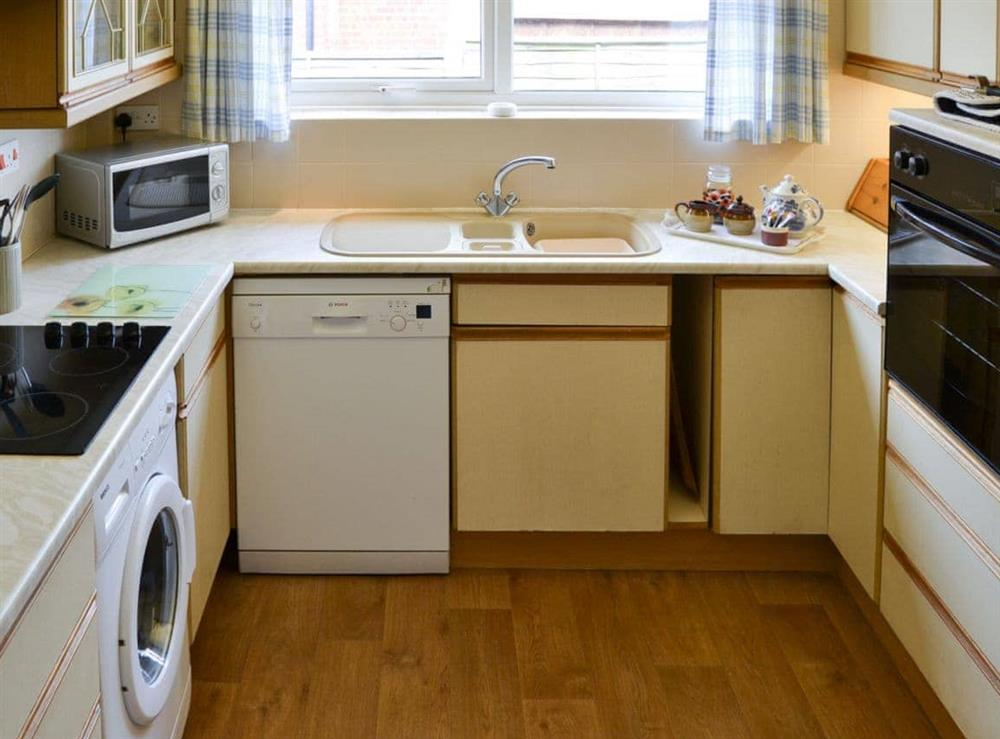Kitchen at Rosemary's Sea View in Bacton, Norfolk