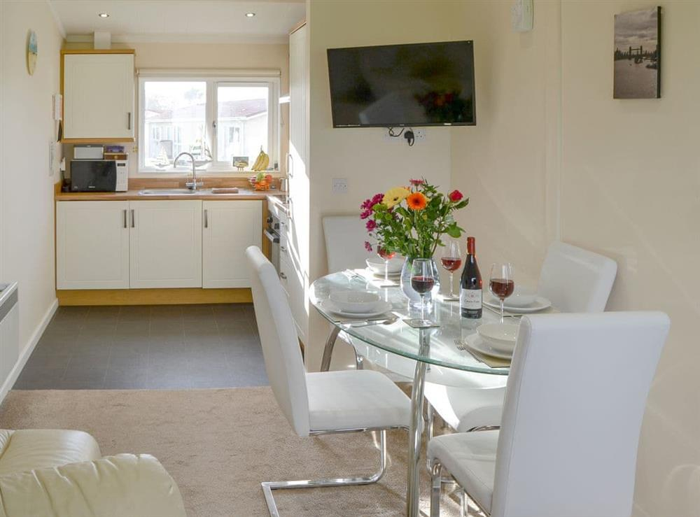 Delightful open plan living space at Roses Place in Bacton, Norfolk