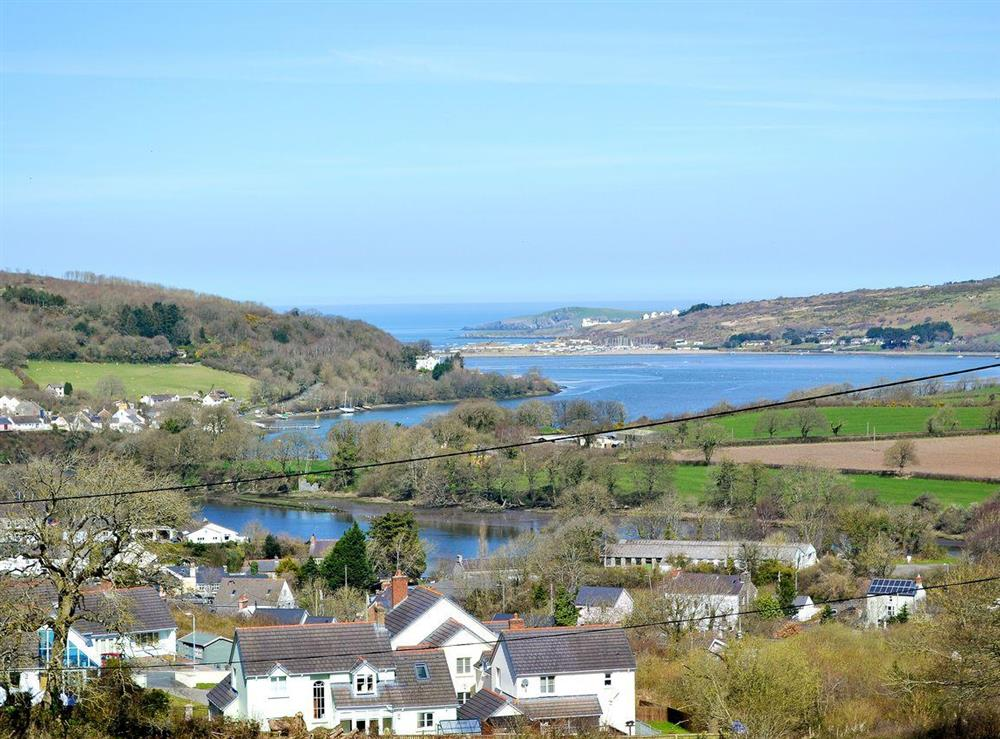 River Teifi (photo 2) at Rosevene in St Dogmaels, Dyfed