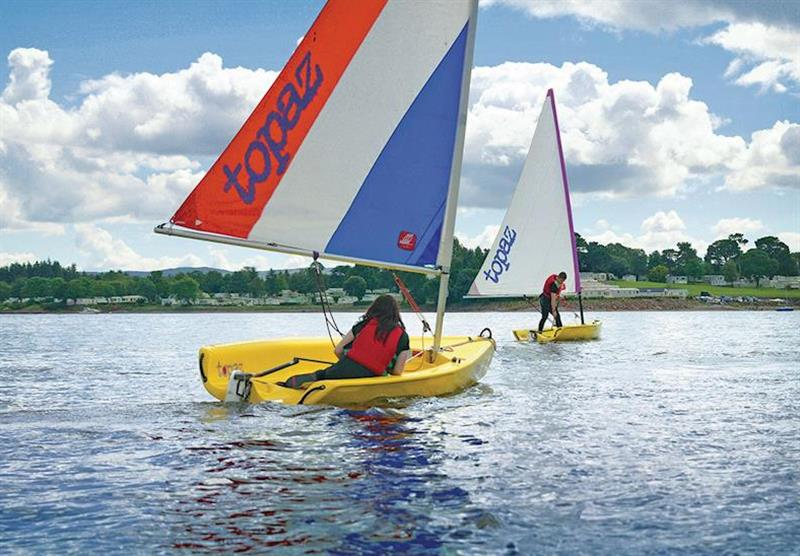 Sailing at Rosneath Castle Park in Rosneath, Southern Highlands