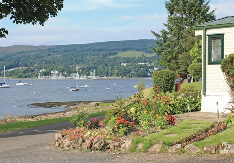 The park setting (photo number 3) at Rosneath Castle Park in Rosneath, Southern Highlands