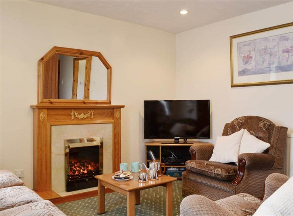 Living room/dining room at Ross Cottage in Dunfermline, Fife
