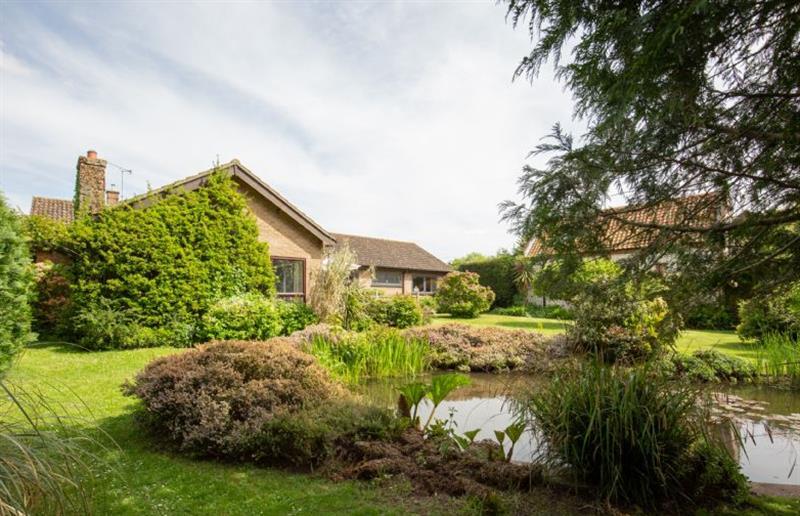 Garden at Rossmore, Holme-next-the-Sea near Hunstanton, Norfolk