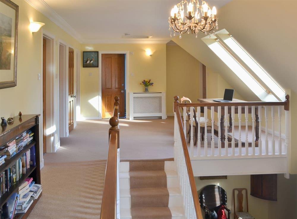 Stairs at Rowan House in Ardgay, near Dornoch, Ross-Shire