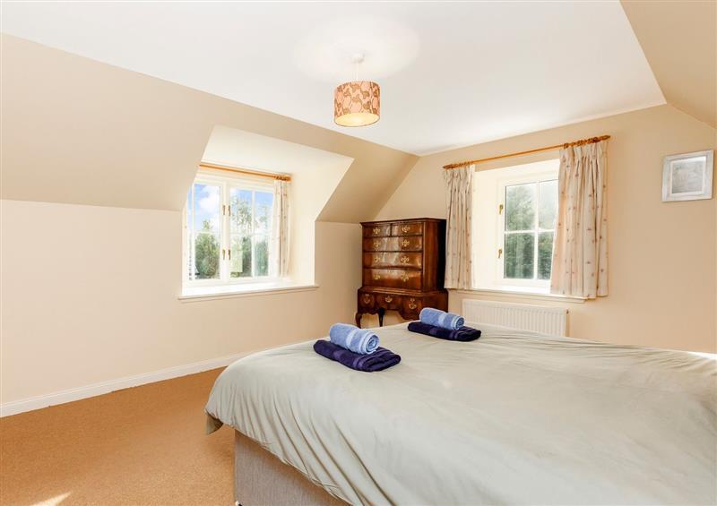 One of the 5 bedrooms at Rowan House, Bonar Bridge