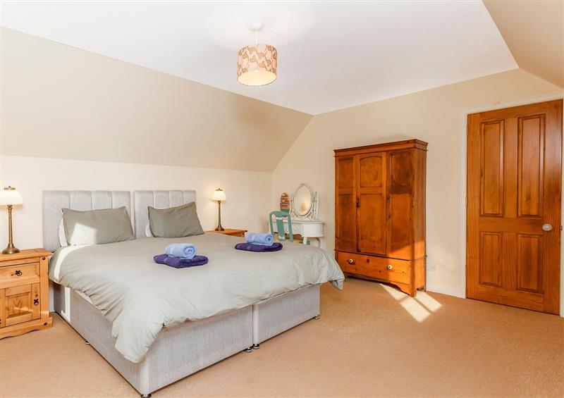 One of the bedrooms at Rowan House, Bonar Bridge