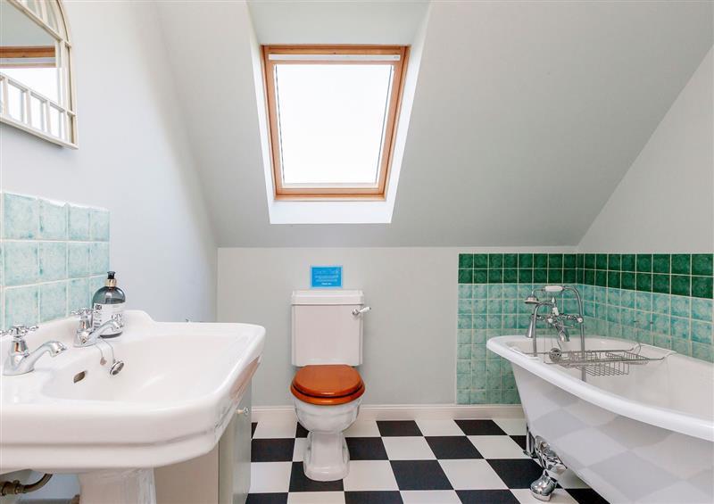 This is the bathroom at Rowan House, Bonar Bridge