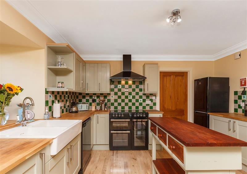 This is the kitchen at Rowan House, Bonar Bridge