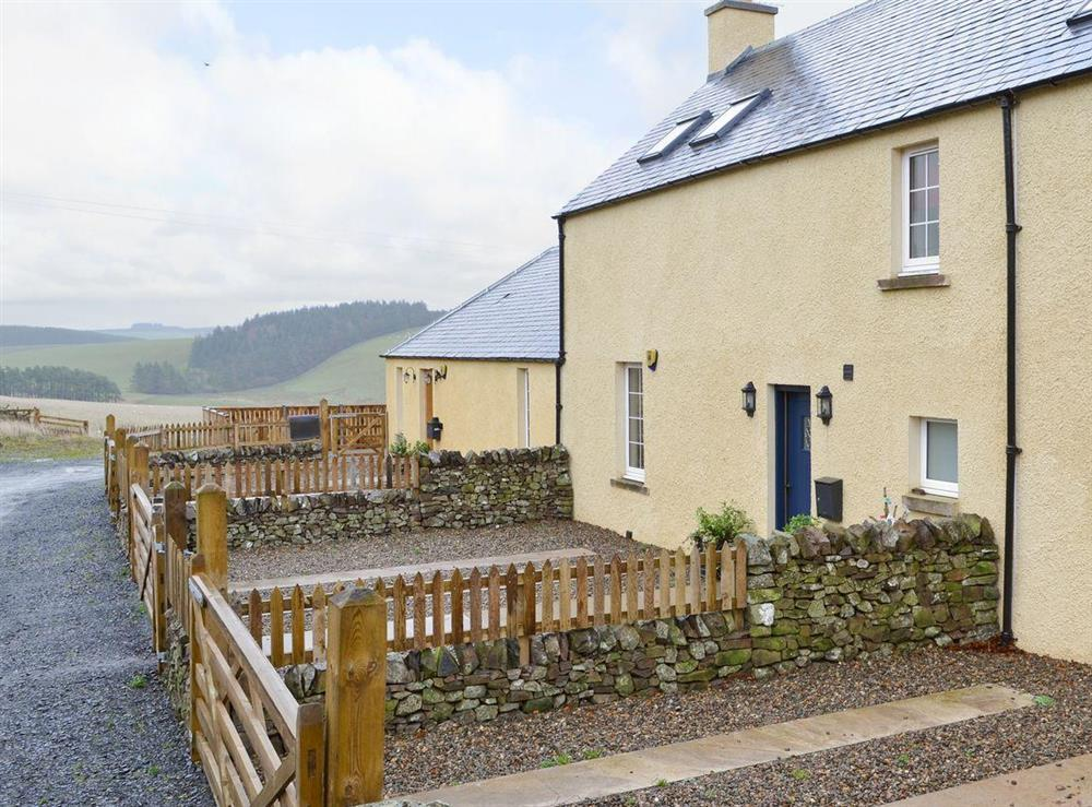 Impressive cottage set in a beautiful Scottish landscape at Rowan Tree Cottage in Galashiels, Selkirkshire