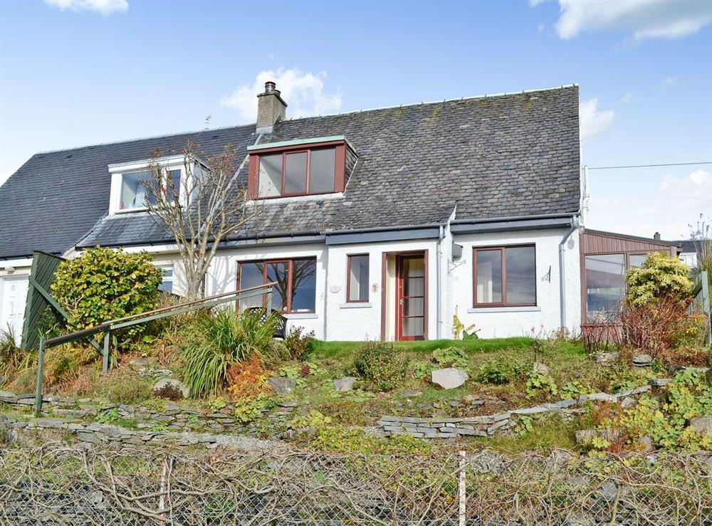 Elevated detached property with great views at Rowan Tree Cottage in Strone, near Dunoon, Argyll