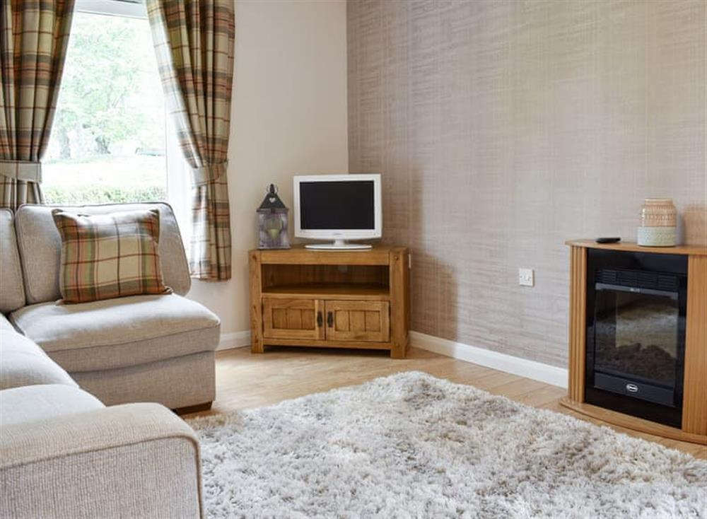 Welcoming living area at Rowantree Court in Lumsden, near Alford, Aberdeenshire