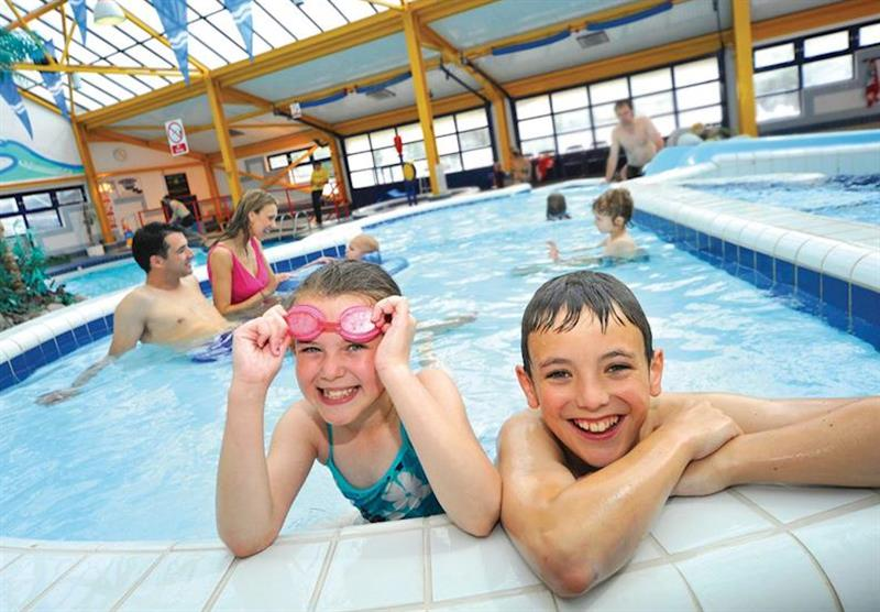 Indoor pool (photo number 13) at Ruda in Croyde Bay, Devon