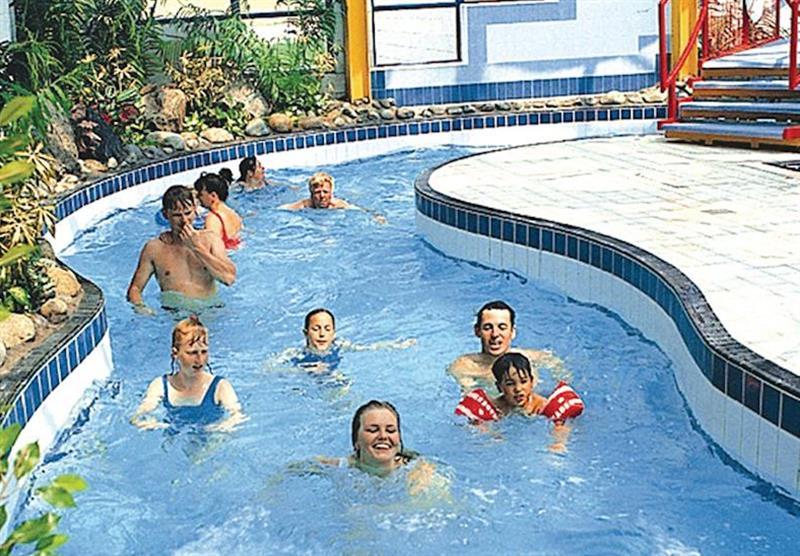 Indoor pool (photo number 2) at Ruda in Croyde Bay, Devon