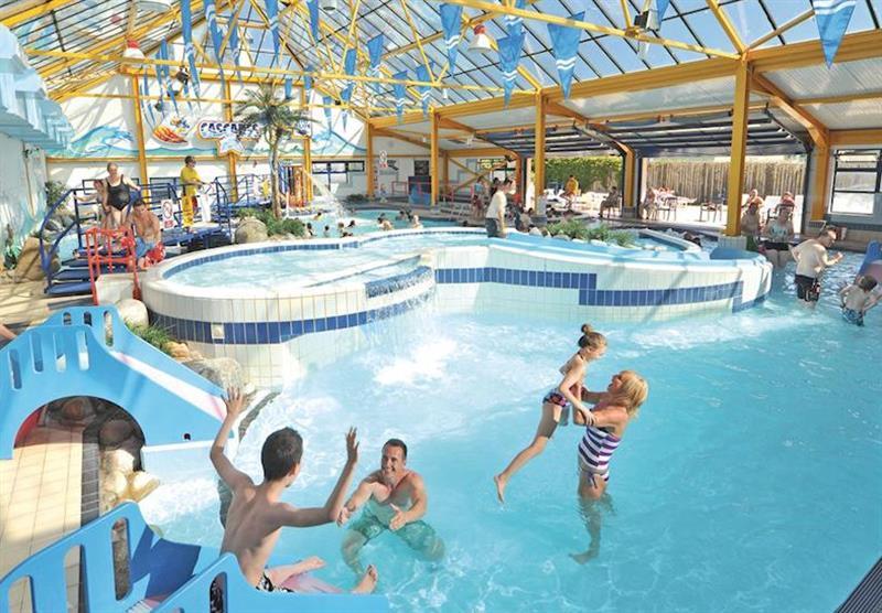 Indoor pool at Ruda in Croyde Bay, Devon