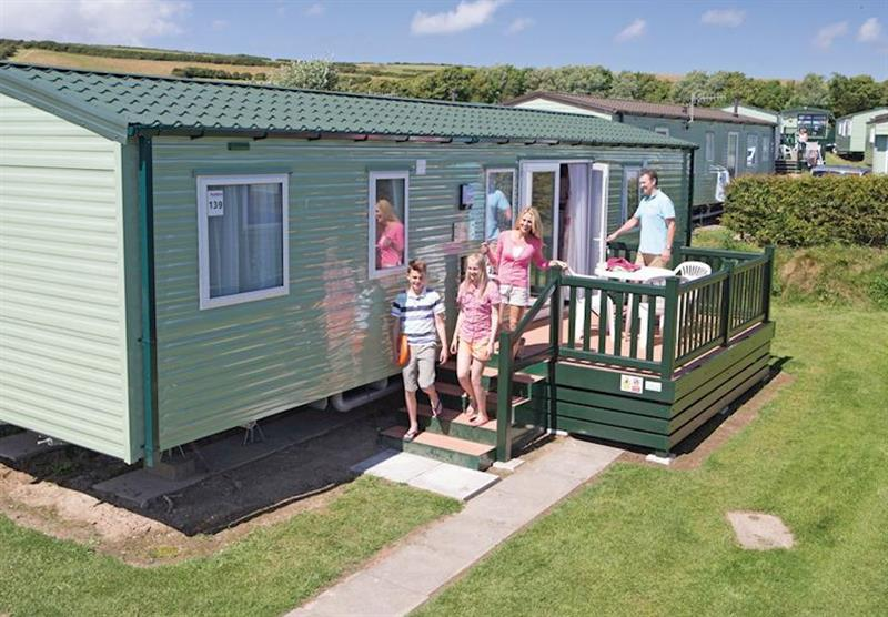 The park setting (photo number 10) at Ruda in Croyde Bay, Devon