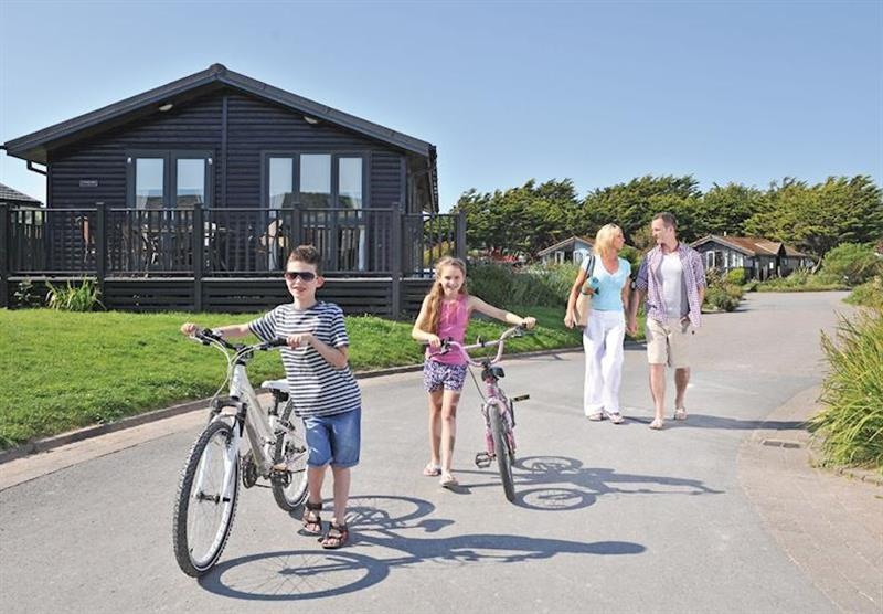 The park setting at Ruda in Croyde Bay, Devon