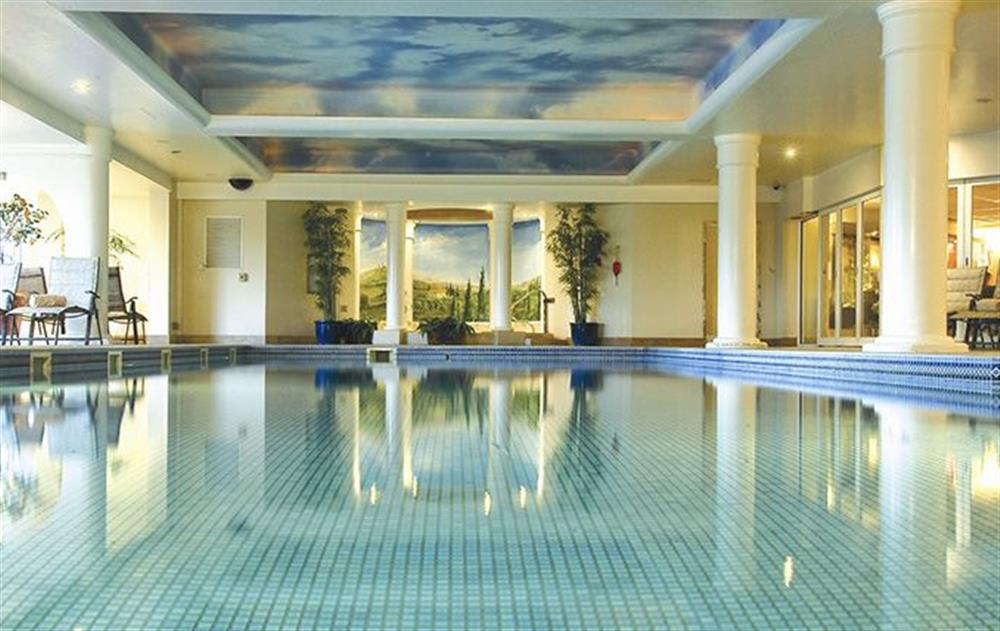 Heated indoor pool at Russet Bramley, Stoke by Nayland