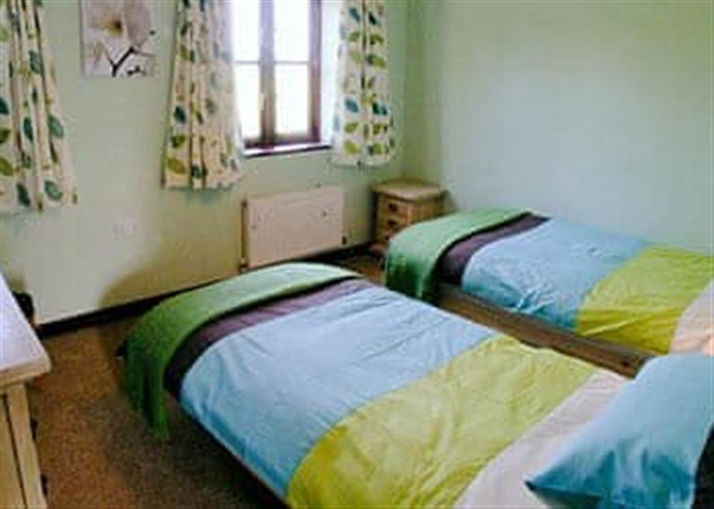 Twin bedroom at Wall Brown,