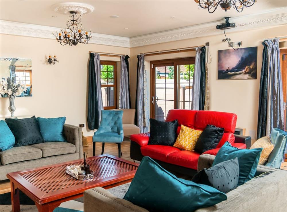 Living room at Saint Martins House in Tranent, East Lothian