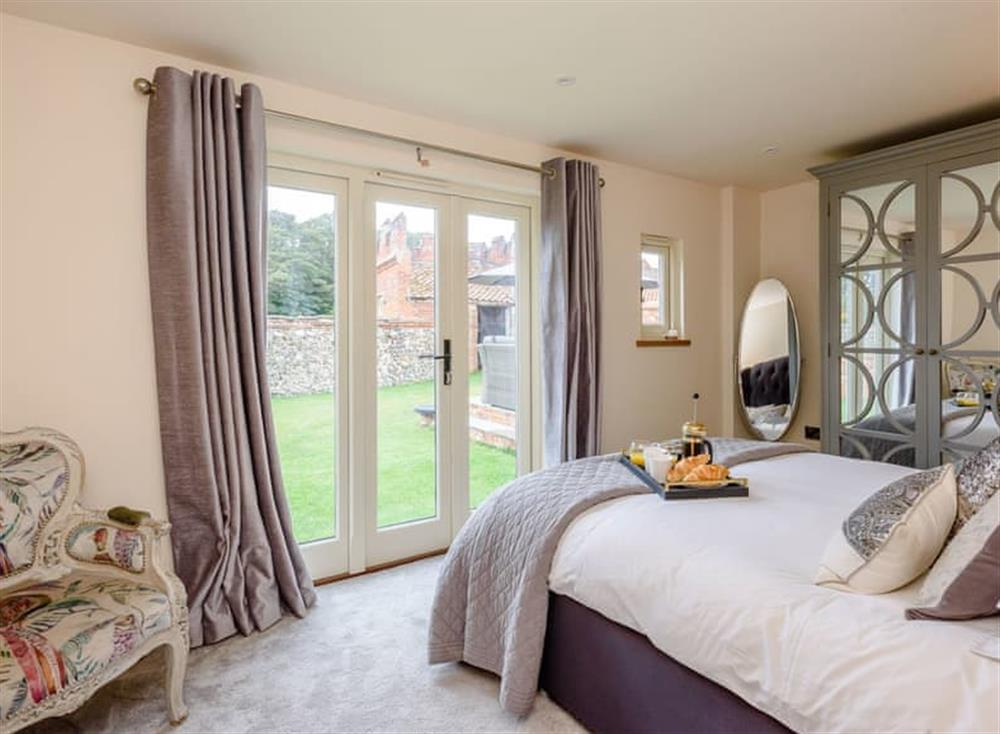 Comfortable double bedroom at Deer View Cottage,