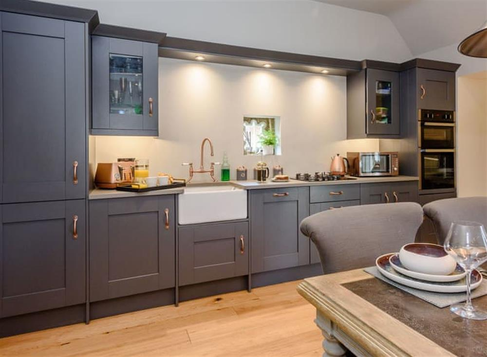 Comprehensively equipped kitchen at Deer View Cottage,