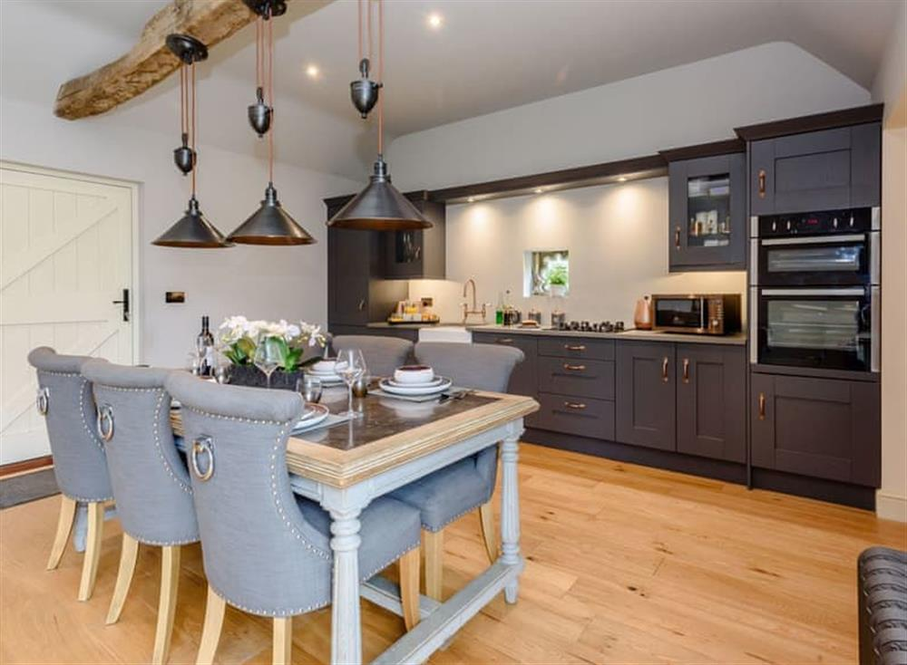 Light and airy dining space at Deer View Cottage,