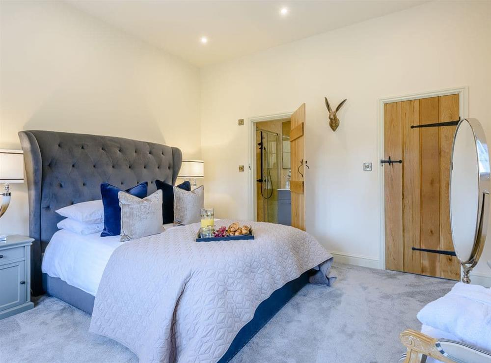 Double bedroom at Enchanted Cottage,