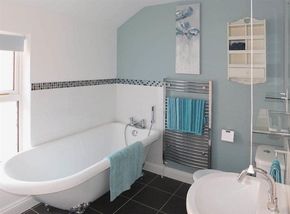 Bathroom at Samphire in Bacton, Norfolk