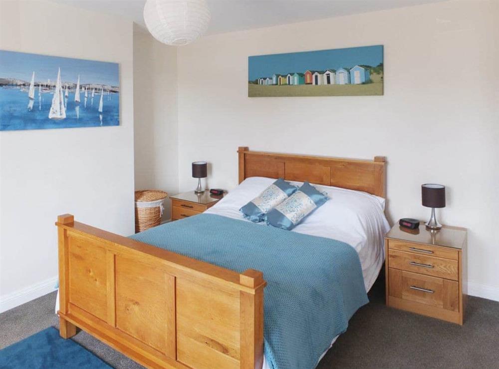Double bedroom at Samphire in Bacton, Norfolk