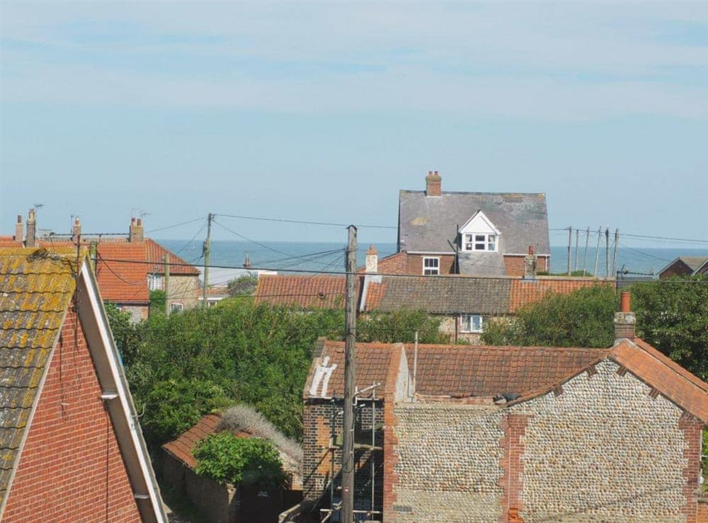 View at Samphire in Bacton, Norfolk
