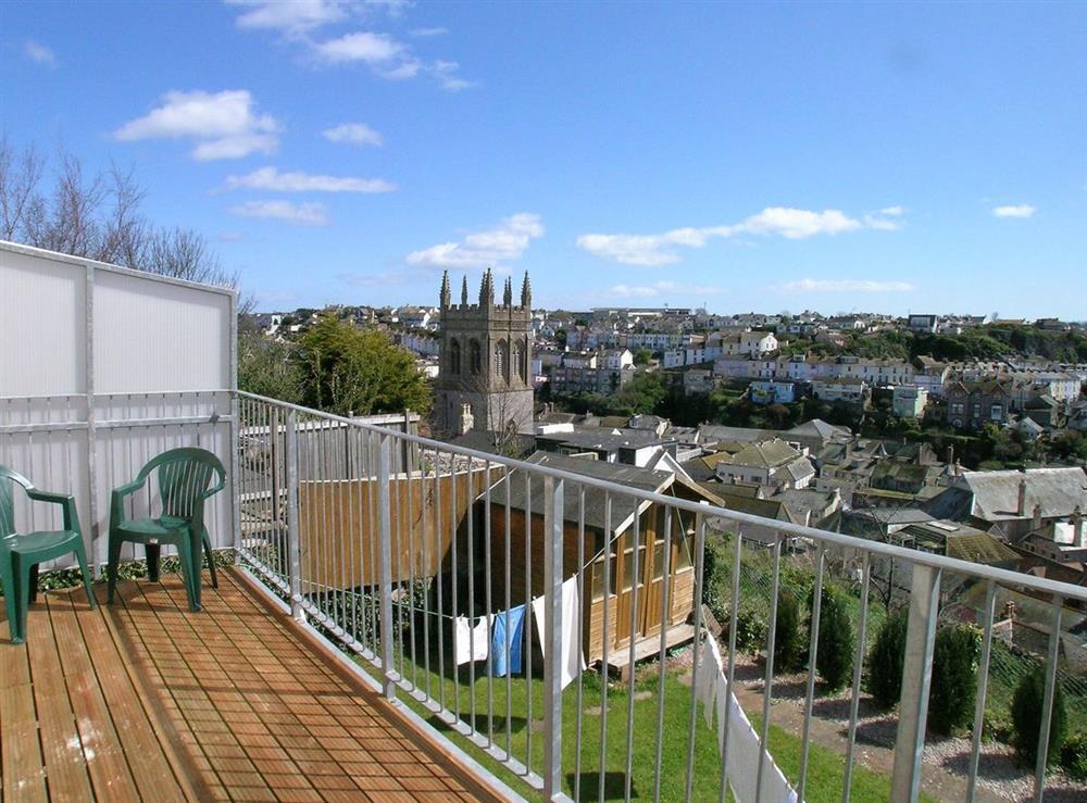 Balcony at Samphire in Brixham, Devon