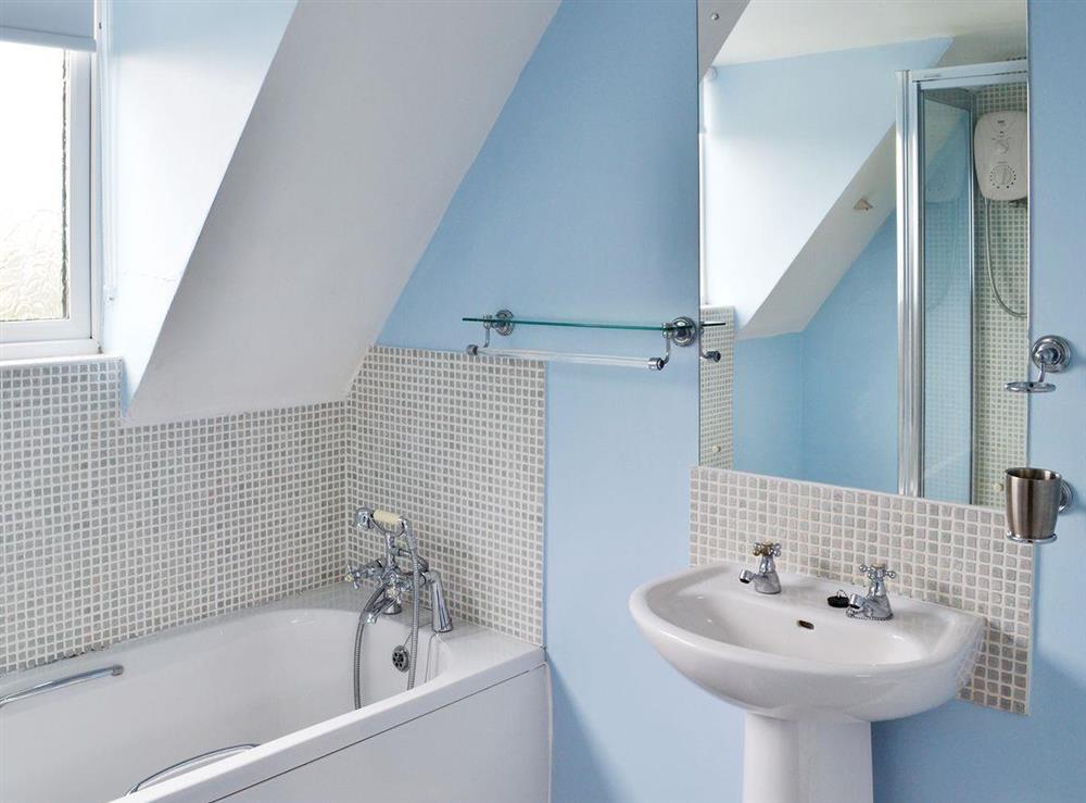 Bathroom at Samphire in Brixham, Devon