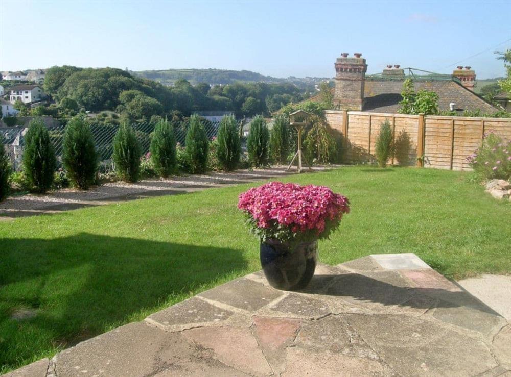 Garden at Samphire in Brixham, Devon